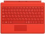 Surface 3 タイプ カバー A7Z-00070 [ブライトレッド]
