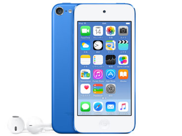 iPod touch MKHE2J/A [64GB ブルー]