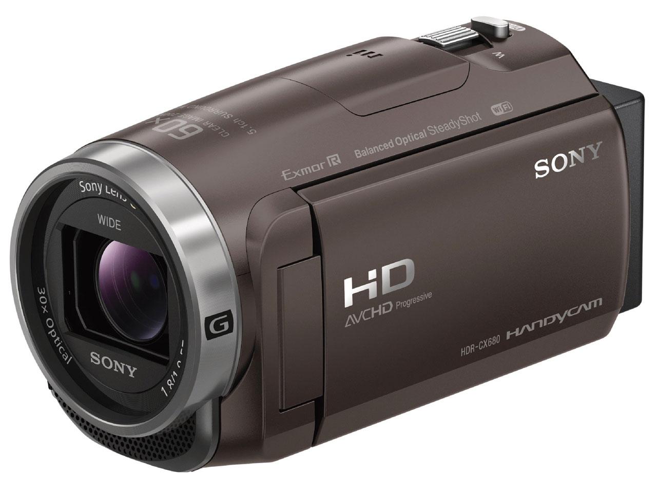 HDR-CX680 (TI) [ブロンズブラウン]