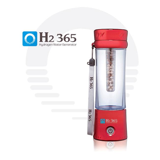 H2 365 携帯用水素水生成器 Red (レッド)