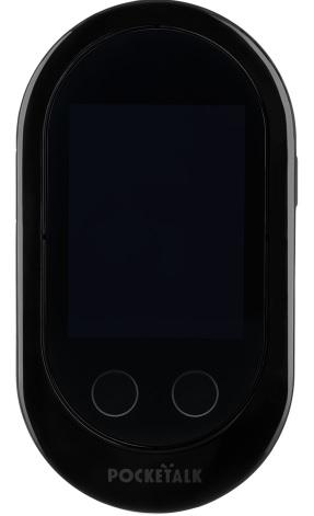 POCKETALK W グローバル通信(2年)付き W1PGK [ブラック]